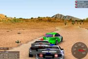 لعبة سباق سيارات رالى