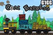 لعبة قطار نقل صناديق الفحم