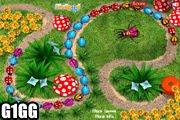لعبة زوما في الحديقة
