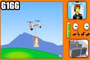 لعبة انقاذ الحيوانات بالهليكوبتر