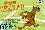 لعبة تنطيط الكرة مع سكوبي دو