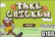 لعبة جمع الدجاج