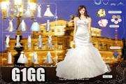 لعبة تلبيس فساتين زفاف العروسة