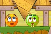 لعبة البرتقاله الشقيه