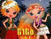 لعبة تلبيس بنات جزيرة الشاطىء