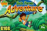 لعبة مغامرة فى الغابة