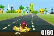 لعبة سباق سيارات للاطفال