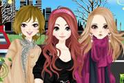 لعبة تلبيس بنات لندن