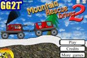 لعبة شاحنة الجبال