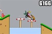لعبة دراجة حبيبة ماريو