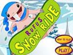 لعبة لوح التزلج على الجليد