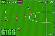 لعبة مباراة كرة قدم