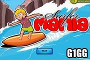 لعبة تزلج على البحر