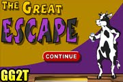 لعبة هروب البقرة الذكية والخطيرة