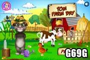 لعبة مزرعة القط الناطق توم