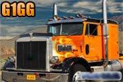 لعبة شاحنة توصيل البضائع