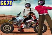 لعبة سباق موتوسيكلات صحراوية