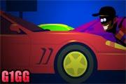 لعبة لص السيارات