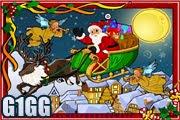 لعبة البحث عن حروف عيد الميلاد