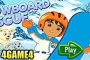 لعبة دورا التزلج