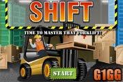 لعبة شاحنة نقل البضائع