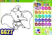 لعبة تلوين الفيل