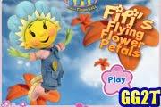 لعبة القفز و تجميع الزهور