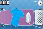 لعبة مكواه الملابس