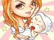 لعبة رعاية الاطفال الرضع