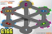 لعبة ركن العربيات الملونة