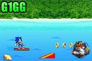 لعبة مغامرات سونيك في البحر
