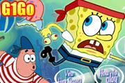 لعبة سبونج بوب تحت البحر