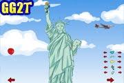 لعبة تلبيس تمثال الحرية