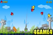 لعبة الطيور الغاضبة 4
