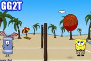 لعبة الكرة الطائرة الشاطئية