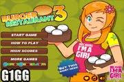 لعبة مطعم البرجر 3