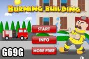 لعبة رجل الإطفاء منقذ الحريق