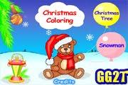 لعبة تلوين عيد الميلاد