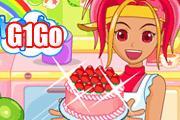 لعبة صنع الكعكة اللذيذة