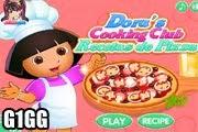 لعبة طبخ بيتزا دورا