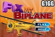 لعبة ورشة صيانة الطائرة