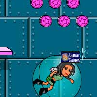 لعبة فتاة الفضاء