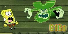 لعبة سبونج بوب في سفينة الاشباح