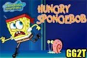 لعبة سبونج بوب جائع