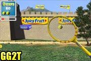 لعبة كرة مضرب الحائط