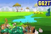 لعبة ترتيب حيوانات الغابة