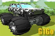 لعبة شاحنة الغابات