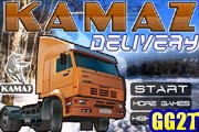 لعبة شاحنة توصيل مواد البناء