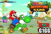 لعبة مغامرة ماريو النجم