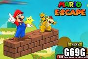 لعبة هروب المغامر ماريو